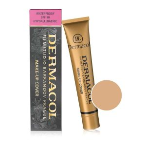 Dermacol Foundation Brand High Quality Concealer Liquid Foundation Cover Freckles Acne Marks Waterproof